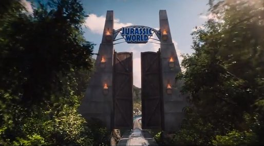 Steven Spielberg, Jurassic World, Trailer