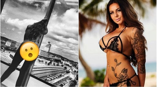 Ex on the beach-profilen näthatas – efter nakenbild