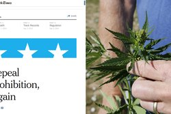 New York Times, USA, Legalisering, Marijuana, Kampanj