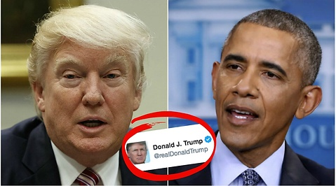 Terrorattacken i Westminster, Barack Obama, Donald Trump