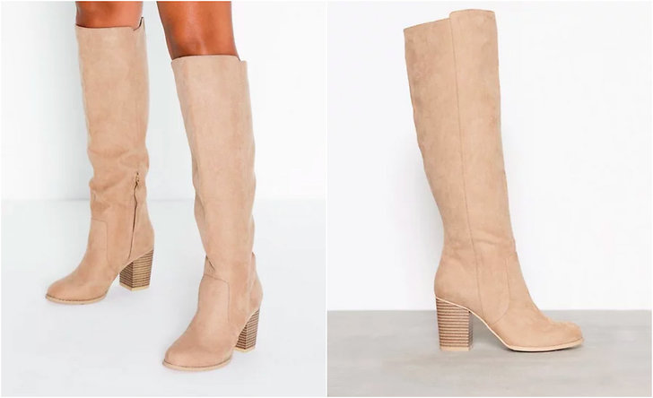 NLY Block Knee High Boot