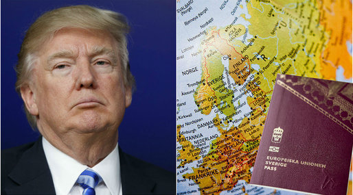 USA, visumregler, Terrorism, Europa, Donald Trump, Visum, Medborgare, IS-krigare