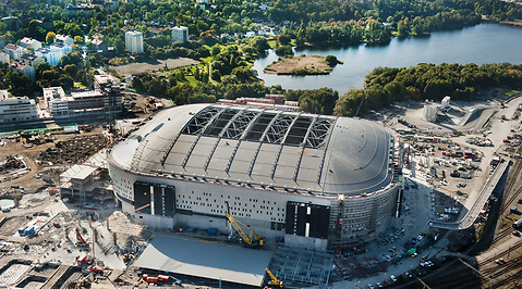 Fotboll, Nationalarenan, AIK, Swedbank Arena
