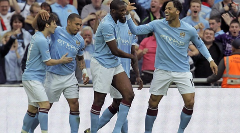Premier League, Manchester City, Yaya Toure, Manchester United, FA-cupen, Wembley