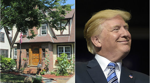 Donald Trump, Hem, airbnb