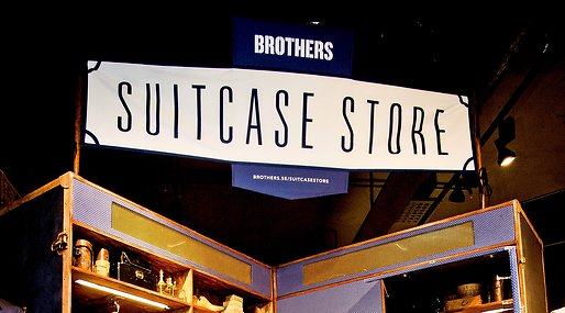 Suit Case Store, Travel Line, Brothers, johan magnusson,  Clara Uddman