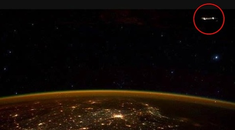 Scott Kelly, Bevis, Bild, Ufo