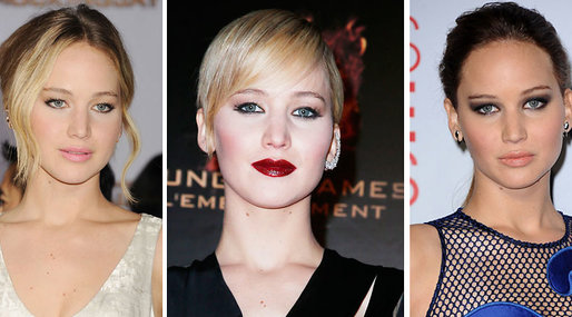 Look, Ikon, Hollywood,  make over,  celeb, Stil, Jennifer Lawrence