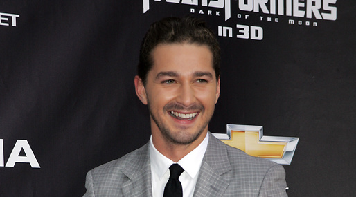 Shia LaBeouf, Film, naket