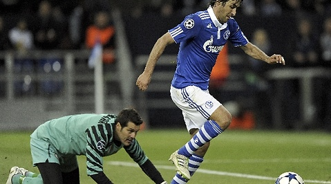 Inter, Raúl, Champions League, Schalke 04