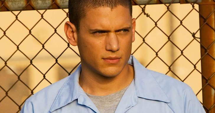 Wentworth Miller som Michael Scofield i Prison Break