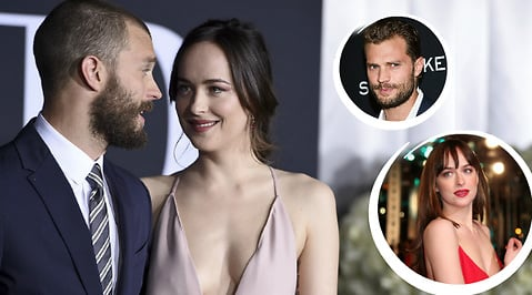 Dakota Johnson, Fifty Shades Freed, Jamie Dornan