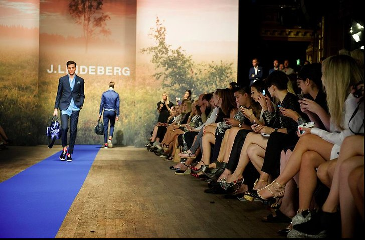 J.Lindeberg Stockholm Fashion Week