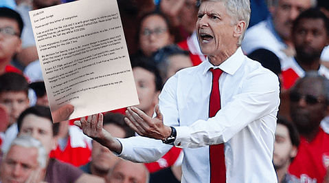 Fotboll, Premier League, Arsenal, Arsene Wenger