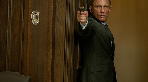 Hollywood, Bond, James Bond, Skyfall, Film, Daniel Craig, Javier Bardem