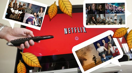 Streaming, tv-serie, Releaser, Scream, Avengers: Age of Ultron, netflix, Netflix and chill, Nyhet, Halloween, Oktober