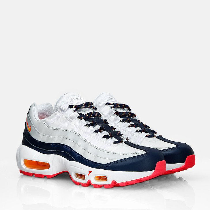 Nike Air Max 95 Navy/Red/White (Dam)