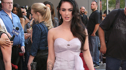 Bild, Paparazzi, Armani, Brian Austin Green, Hollywood, USA, Megan Fox