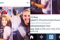 Dumpad,  Hashtag, Göra slut, instagram,  TransformationTuesday