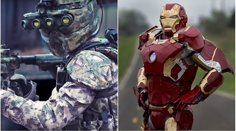 Superdräkt, Dräkt, Militar, USA, Iron Man