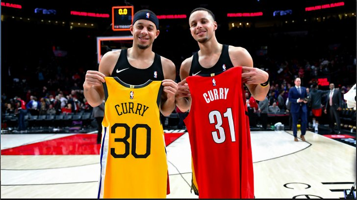 Seth Curry och Steph Curry