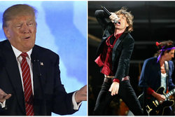 The Rolling Stones , Donald Trump