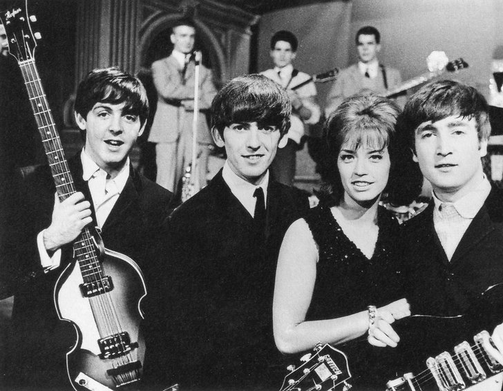 Lill-Babs med Beatles i Drop-in 1963