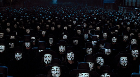 Anonymous, Fifth November, V for Vendetta, Protest, Guy Fawkes