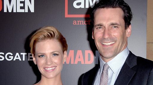 Jon Hamm, Dejting, kärlek, Mad Men, January Jones