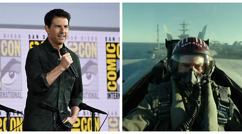 Tom Cruise, Film, Top Gun