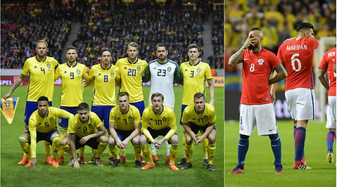 Sverige, Zlatan Ibrahimovic, Chile, Friends Arena