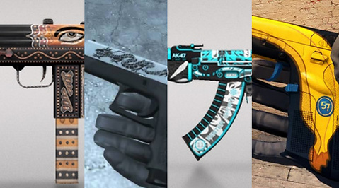 Counter-Strike, Skins, Counter-Strike: Global Offensive, Valve