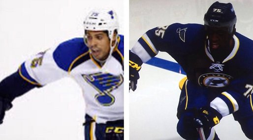 nhl,  NHL 14,  EA Sports, Ryan Reaves,  NHL 15, Hudfärg, Hudton