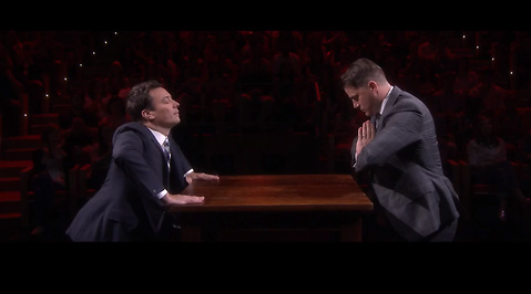 The Tonight Show, Channing Tatum, Jimmy Fallon