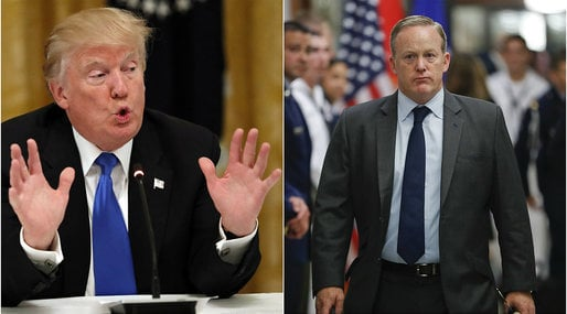Donald Trump, Sean Spicer