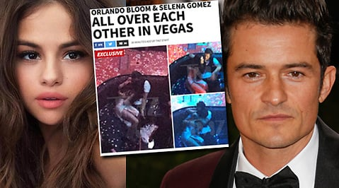 Selena Gomez, Katy Perry, Orlando Bloom, Otrohet