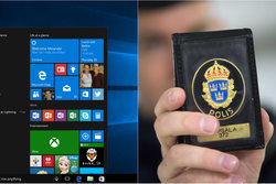 Polis, Polisen, windows 10, Varning, Windows