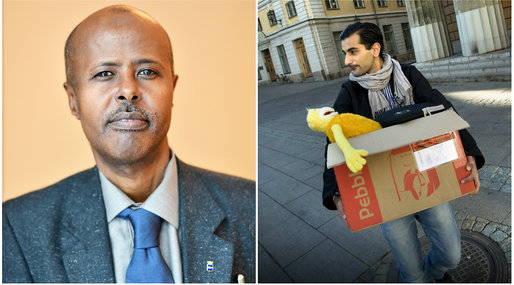 Moderaterna, Hanif Bali,  Kahin Ahmed , Debatt