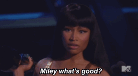 MTV, Nicki Minaj, VMA, Miley Cyrus