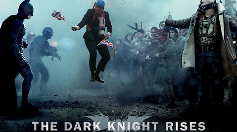 mem, London, Meme, Boris Johnson, Batman, Olympiska spelen