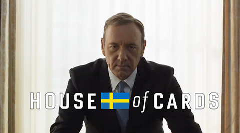 netflix, Ellinor Svensson, Totte Löfström, Kevin Spacey, House of cards