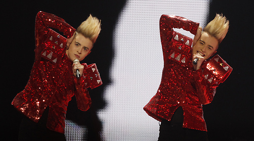 Jedward, schlager, Eurovision Song Contest, Irland, Musik