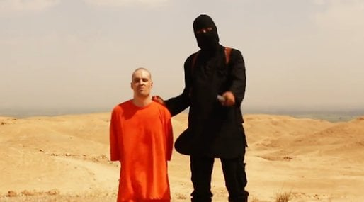 Barack Obama, Avrattning, is,  James Foley, Youtube,  ISIS, Video,  Islamiska staten