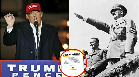 Adolf Hitler, Donald Trump