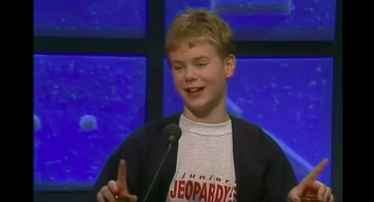 Gustav Fridolin i Jeopardy.