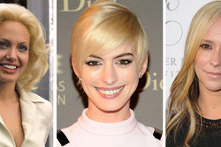 Celebs,  Look, blond, Makeover,  hair,  brunetter, Kändisar