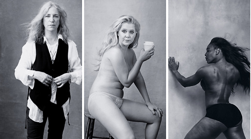 Serena Williams, Amy Schumer, Pirelli, Kvinnor