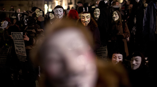 November, Anonymous, Guy Fawkes