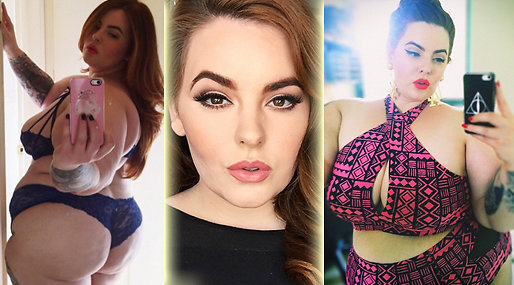 Modeller,  Milk Model Management, Plus Size,  Tess Holliday