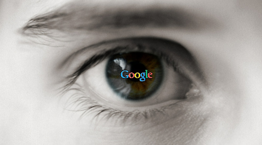 Google, Patent, Ögon, Minority Report, Teknik, Tom Cruise